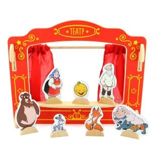 """Игровой набор """"Кукольный театр"""", 6 кукол МДИ"""