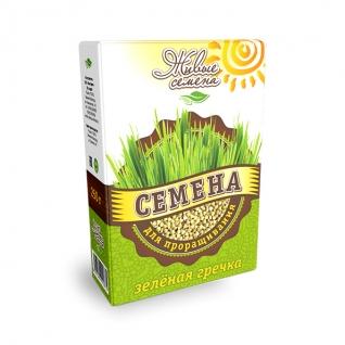 Зеленая гречка для проращивания, 250 г, коробка