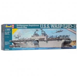 Сборная модель U.S.S. Wasp Class, 1:350 Revell