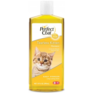 8in1 8in1 шампунь для котят PC Tearless Kitten без слез с ароматом детской присыпки 295 мл
