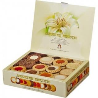 Печенье Бискотти ассорти 12 видов 750г