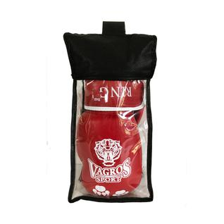 Перчатки боксерские Vagrossport Vagrosport Ring Rs912, 12 унций, красный