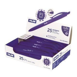 Ручка шариковая MILAN P1, 1,0мм синий, 176510925