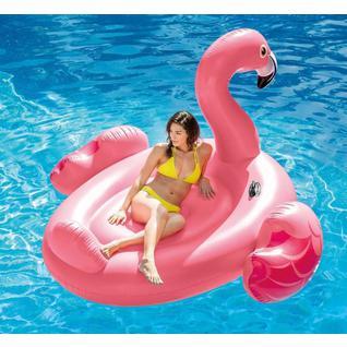 "Надувной плот Intex 57558np ""flamingo Ride-on"" 142х137х97 см"