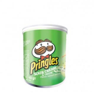Чипсы Pringles со вкусом сметаны и лука 40г