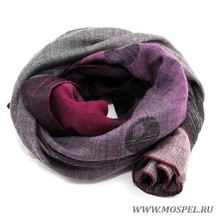 Палантин 5200172 пурпурный Venera