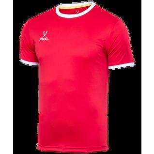 Футболка футбольная Jögel Camp Origin Jft-1020-021-k, красный/белый, детская размер YXS