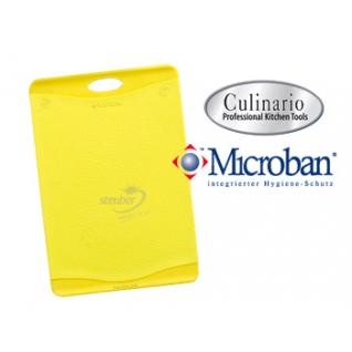Разделочная доска с антибактериальной защитой Microban® желтая