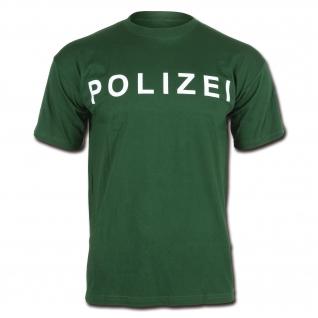 Made in Germany Футболка Polizei, цвет зеленый