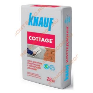 КНАУФ Коттеджная смесь цементная универсальная (25кг) / KNAUF Cottage смесь цементная универсальная (25кг) Кнауф