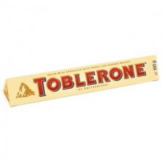 Шоколад TOBLERONE молочный с нугой 100г
