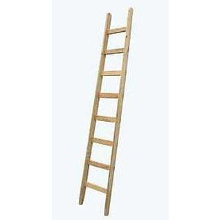 Лестница для крыши из дерева, 16 перекладин