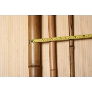 Ствол половинка бамбука 60-70 мм обожженный 2.5-3 м