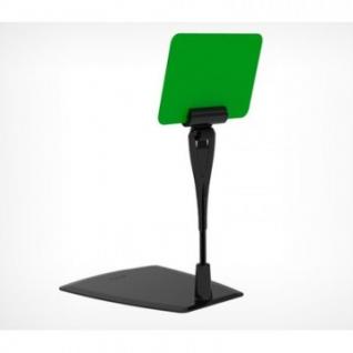 Ценникодержатель настольный DELI-FOT-STICK с иголкой, черный, 20шт/уп.