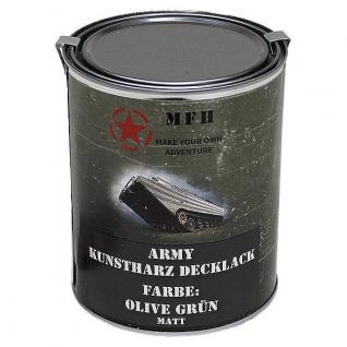 MFH Лак защитный Army, цвет матово-оливковый, 1 л.