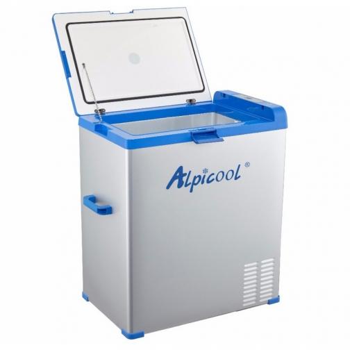 Kомпрессорный автохолодильник ALPICOOL ABS-75 синий (40л, 12/24/220В) 36971689 4