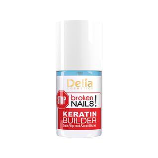 Средство Delia Keratin Builder для ногтей с кератином