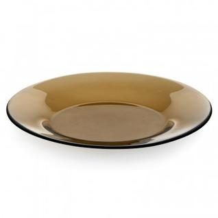 Тарелка десертная БРОУНЗ дымчатая 19,5см (10327SLBZ)