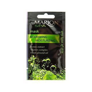 Маска для лица для всех типов кожи Marion увлажняющая и питательная 7,5 мл