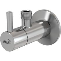"""Угловой вентиль с фильтром 1/2""""x3/8"""" Alca Plast ARV001"""