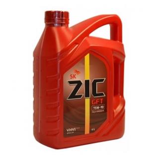 Трансмиссионное масло ZIC GFT 75W90 4л