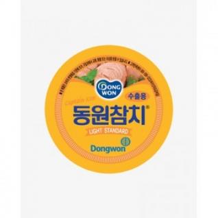 Рыбные консервы Тунец Dongwon консервированный в масле 150 гр