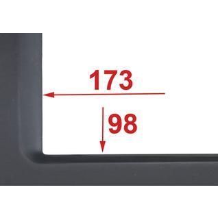 Переходная рамка Incar RMS-N25 для Mitsubishi Galant 2/1DIN (крепеж) Intro