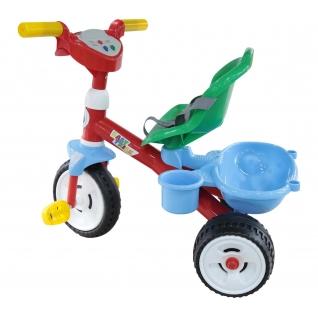Велосипед 3-х колёсный БЕБИ ТРАЙК со звуком и ремешком Полесье