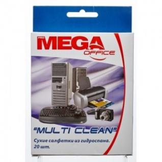 Салфетки Promega office Multi Clean д/чистки поверх.гидроспан 20шт