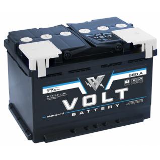 Аккумулятор VOLT STANDARD 6CT- 77N 77 Ач (A/h) прямая полярность - VS 7711 VOLT VS 6CT - 77 N