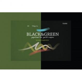 Альбом для рис. пастелью А3 10л, блок картон 760 гр/м, тонир. по 5л. 07682