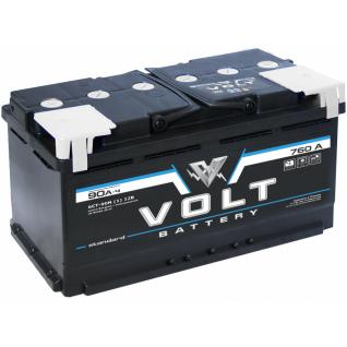 Аккумулятор VOLT STANDARD 6CT- 90N 90 Ач (A/h) прямая полярность - VS 9011 VOLT VS 6CT - 90 N