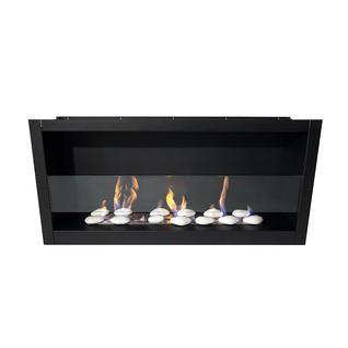 LUX FIRE Встроенный биокамин Lux Fire Кабинет 900