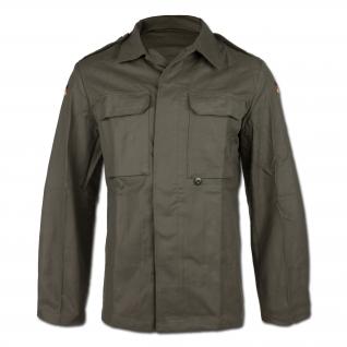 Куртка из молескина, Бундесвер старого образца, цвет оливковый