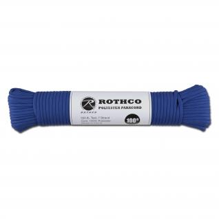 Rothco Паракорд 550 lb 100 фт. полиэстер синего цвета
