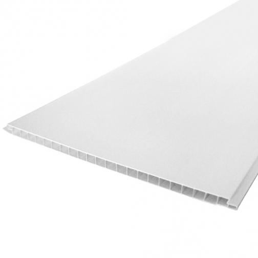 Панель ПВХ 2700х250х8мм белая глянцевая (10шт=6,75м2) / Стеновая панель ПВХ 2700х250х8мм белая глянцевая лаковая (упак. 10шт.=6,75 кв.м.) 36983482