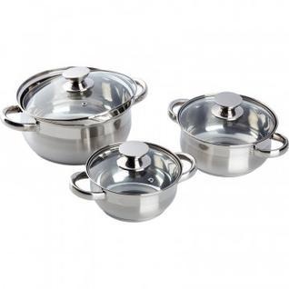 Набор посуды CLASSIC 3 кастрюли с крышк. (1,3+2+3,5л) (ASS725)
