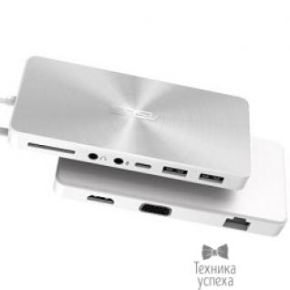 Asus Asus 90NB0DH1-P00070 Port Replicator AH001-1A (90w, 2*USB3.0, 1*Type C, HDMI, D-sub, Card reader SDXC, 1UTP 10/100/1000 Mbps, SPK & MIC Jack)