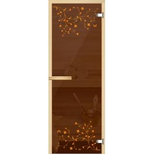 Арт-серия (AJIO) 7х19 (8мм) с рисунком: коробка -осина/липа: Две ветки