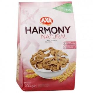 Хлопья AXA Гармония мультизерновые натуральные, 500г