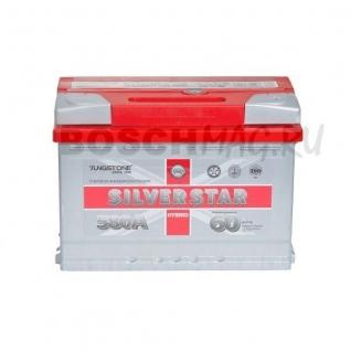 Аккумулятор SilverStar 6СТ-60.R0 60 Ач (A/h) обратная полярность Hybrid TUNGSTONE 6СТ-60.1R