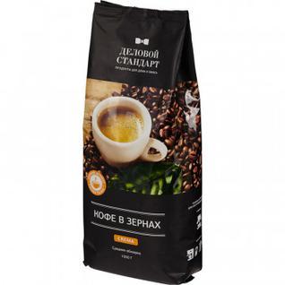 Кофе в зернах Деловой Стандарт Crema, 1кг