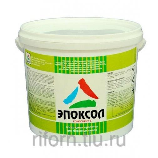 Эпоксол - пропитка для бетонных полов и стяжек 9065