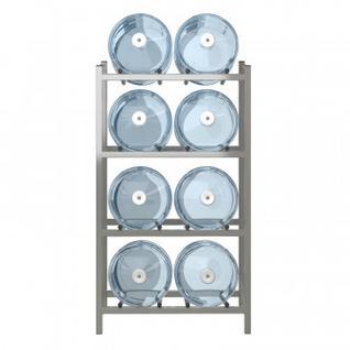 Метал.Мебель KD_Бомис-8Л стеллаж для воды бутилир. на 8 тар