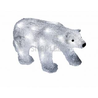 """Neon-Night Акриловая светодиодная фигура """"Медведь"""" 34,5х12х17 см, 4,5 В, 3 батарейки AA (не входят в комплект), 24 светодиода, NEON-NIGHT"""