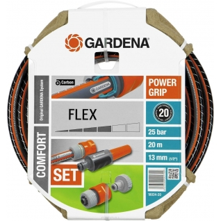 "Шланг Gardena Flex 13 мм (1/2""), 20 м, с фитингами"