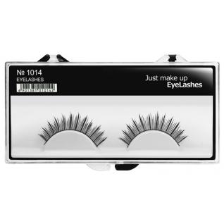 JUST - Накладные ресницы классические черные EyeLashes 1014
