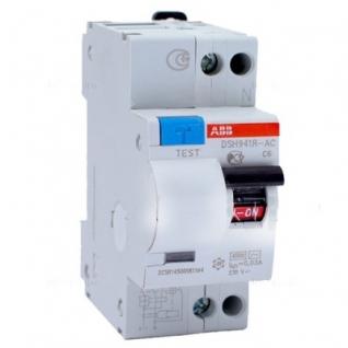 Дифференциальный автомат 2-х полюсный С16 30мА ABB, DSH 941