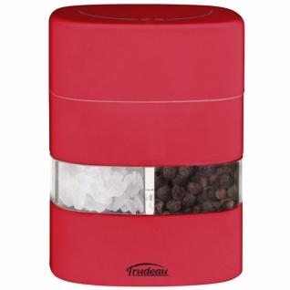 Кухонные аксессуары. Открывалки. Trudeau Corp. Меленка 2 в 1 (солонка+перечница) красная NW-S+P-R