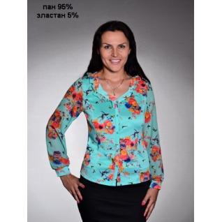 Блуза с длинным рукавом 54 размер